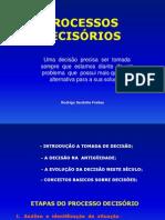 PROCESSO DECISORIO