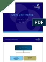 Turbine Meter Training