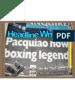 Headline Writing Chermed