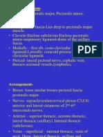 Upper Limb_Pectoral Region,Scapular Region,Axilla & Brachial Plexus