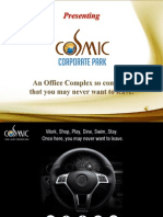 Cosmic Corporate Park PPT Final GU