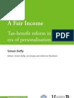 A Fair Income