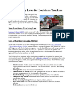 Stricter Safety Laws for Louisiana Truckers