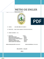 VISCOSÍMETRO DE ENGLER