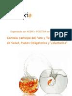 Conexia Participa de Foro y Taller 'Seguros de Salud Planes Obligatorios y Voluntarios' en Colombia