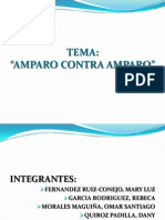 Amparo Contra Ampa5o Diapositivas