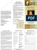 2012 Padre Pio Retreat Flyer