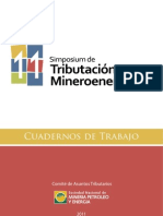 Cuaderno de Trabajo 11 Simposium de Tributacion Mineroenergetica Diciembre 2011