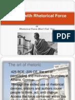 Writing With Rhetorical Force Rev