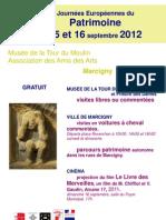 Journées Européennes du Patrimoine à la Tour du Moulin - Marcigny