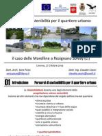 Percorsi di sostenibilità per il quartiere urbano