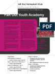 far out youth academy flyer