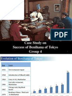 Benihana - Case Study Discussion