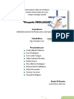 Proyecto PROLADAN