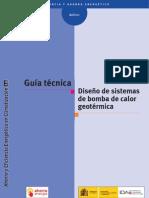 Guia Tecnica IDAE.diseno de Sistemas de Bomba de Calor Geotermica