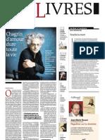 Supplément Le Monde des livres 2012.09.07