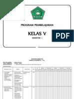 Program Smester b.indo Dan Sbk 1