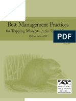 Best Management Practices for Trapping Muskrats in the United States
