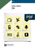 Nigeria - Mapping Digital Media