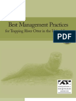 Best Management Practices for Trapping River Otter in the United States