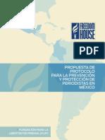 Freedom House Estudio para una propuesta de Protocolo para periodistas en México