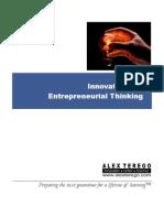 ePrimer - Innovative and Entrepreneurial Thinking