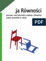 Raport o LGBT w polskich szkołach.