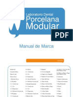 Manual de Identidad Corporativa Porcelana Modular.