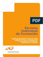 PERMISO INDIVIDUAL DE FORMACIÓN. CUADERNO DE AYUDA.