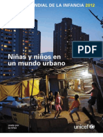 Estado Mundial de La Infancia 2012 Unicef