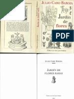 Caro Baroja-1993-Jardin de Flores Raras-pars