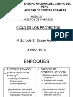 II.ciclo de Los Proyectos