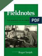Sanjek Roger Fieldnotes,The Makings of Anthropology