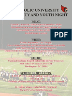 CUA Community and Youth Night