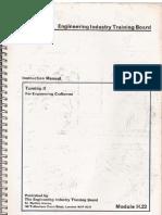 Engineering - Metalworking - Lathe - Turning II - EITB Instruction Manual