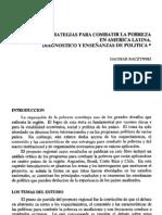 Estrategias para combatir la pobreza en América Latina