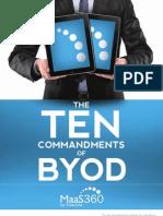 The  Ten Commandments of BYOD