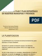 Material de Apoyo Conferencia Planificacion Del 4-9-2012 en Tenares