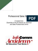 Sales Skill