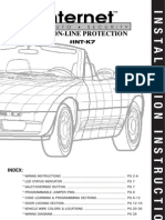Internet Auto Security ON-LINE PROTECTION #INT-K7 Install