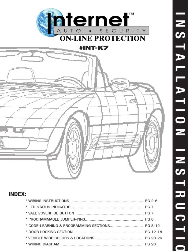 Internet Auto Security On Line Protection Int K7 Install 85 Buick See How To Route A Engine Wiring Harnessfactorygrand