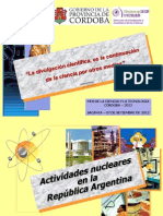 HUGO MARTIN ATOMICA CORDOBA ACTIVIDADES NUCLEARES ARGENTINA SACANTA