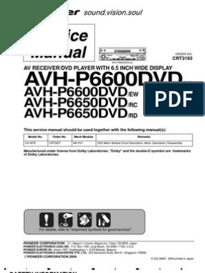 36625444-Pioneer-Avh-p6600dvd-p6650dvd   Electrical Connector   LaserScribd