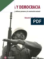 33071581 Eduardo Toche Medrano Guerra y Democracia Los Militares Peruanos y La Construccion Nacional