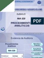 Nia 520 Procedimientosanaliticos