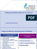 Making Evaluation Work - Oee Updated