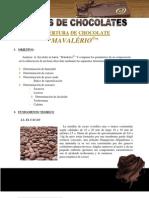 Informe Del Anlisis de Chocolate