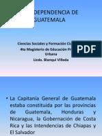 La Independencia de Guatemala