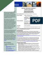 DNR Marine Atlas Spatial Ecologist