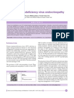 Human immunodeficiency virus endocrinopathy